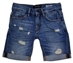 8541b5e0bb7217 Antony Morato Damaged Jeans Bermuda
